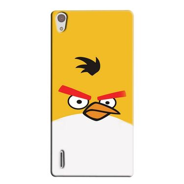 Snooky 38363 Digital Print Hard Back Case Cover For Huawei Ascend P7 - Yellow