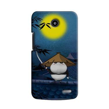 Snooky 38560 Digital Print Hard Back Case Cover For Lenovo A820 - Blue