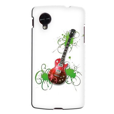 Snooky 35981 Digital Print Hard Back Case Cover For LG Google Nexus 5 - White