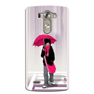 Snooky 37624 Digital Print Hard Back Case Cover For LG G3 - Multicolour