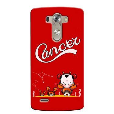 Snooky 37632 Digital Print Hard Back Case Cover For LG G3 - Red