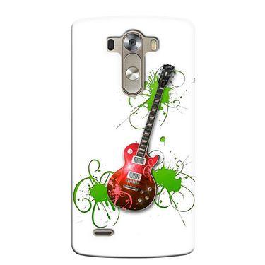 Snooky 37651 Digital Print Hard Back Case Cover For LG G3 - White