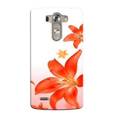 Snooky 37664 Digital Print Hard Back Case Cover For LG G3 - White
