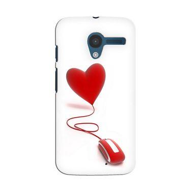 Snooky 35882 Digital Print Hard Back Case Cover For Motorola Moto X - White