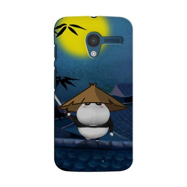 Snooky 35890 Digital Print Hard Back Case Cover For Motorola Moto X - Blue