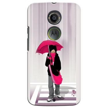 Snooky 35904 Digital Print Hard Back Case Cover For Motorola Moto X2 - Multicolour