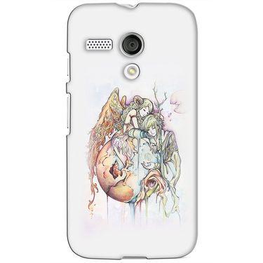 Snooky 38606 Digital Print Hard Back Case Cover For Motorola Moto G - Multicolour