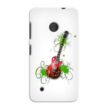 Snooky 38001 Digital Print Hard Back Case Cover For Nokia Lumia 530 - White