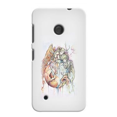Snooky 38006 Digital Print Hard Back Case Cover For Nokia Lumia 530 - Multicolour