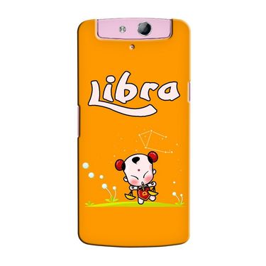 Snooky 36785 Digital Print Hard Back Case Cover For Oppo N1 Mini N5111 - Yellow
