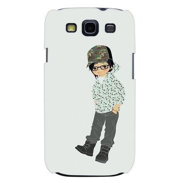 Snooky 35689 Digital Print Hard Back Case Cover For Samsung Galaxy S3 I9300 - Green