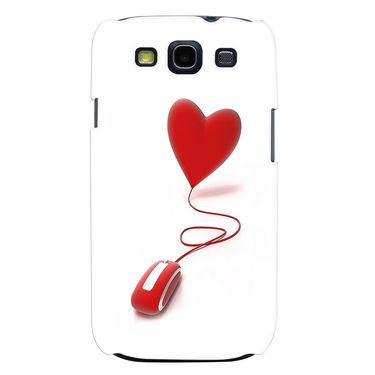 Snooky 35721 Digital Print Hard Back Case Cover For Samsung Galaxy S3 I9300 - White