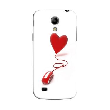 Snooky 35771 Digital Print Hard Back Case Cover For Samsung Galaxy S4 Mini I9192 - White