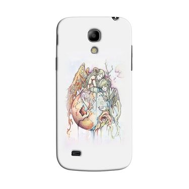 Snooky 35775 Digital Print Hard Back Case Cover For Samsung Galaxy S4 Mini I9192 - Multicolour