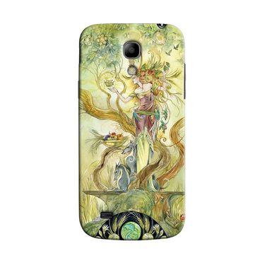 Snooky 35776 Digital Print Hard Back Case Cover For Samsung Galaxy S4 Mini I9192 - Green