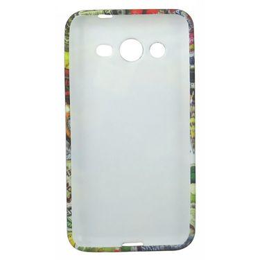 Snooky 35789 Designer Soft Back Case Cover For Samsung Galaxy Core 2 - Multicolour