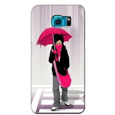 Snooky 36224 Digital Print Hard Back Case Cover For Samsung Galaxy S6 Edge - Multicolour