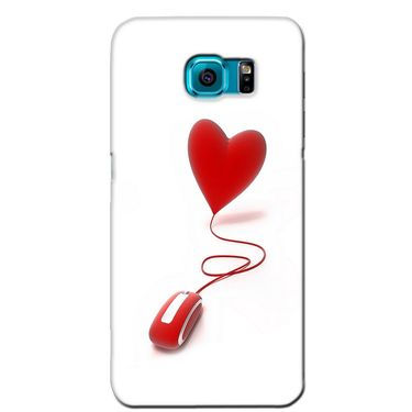 Snooky 36252 Digital Print Hard Back Case Cover For Samsung Galaxy S6 Edge - White