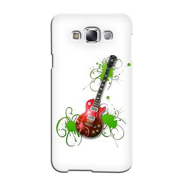 Snooky 36301 Digital Print Hard Back Case Cover For Samsung Galaxy A3 - White