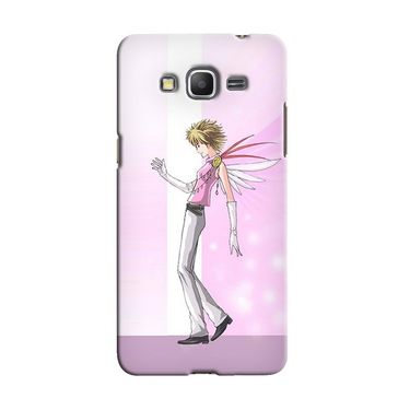 Snooky 36571 Digital Print Hard Back Case Cover For Samsung Galaxy Grand Prime - Pink