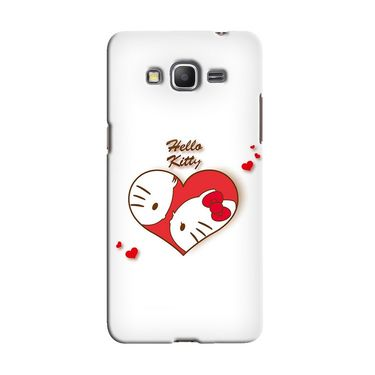 Snooky 36600 Digital Print Hard Back Case Cover For Samsung Galaxy Grand Prime - White
