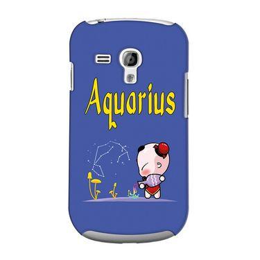Snooky 36836 Digital Print Hard Back Case Cover For Samsung Galaxy S3 Mini - Purple