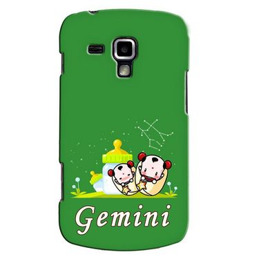 Snooky 38187 Digital Print Hard Back Case Cover For Samsung Galaxy S Duos S7562 - Green