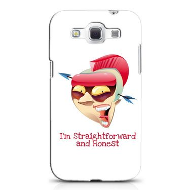 Snooky 38244 Digital Print Hard Back Case Cover For Samsung Galaxy Grand Quattro GT-I8552 - White