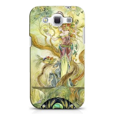 Snooky 38257 Digital Print Hard Back Case Cover For Samsung Galaxy Grand Quattro GT-I8552 - Green