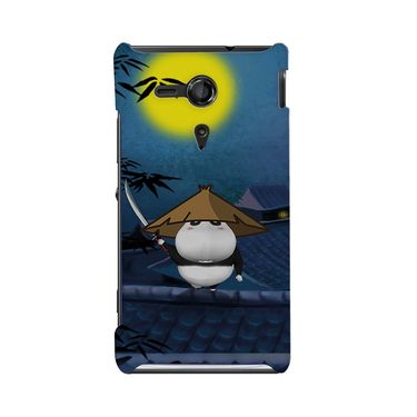 Snooky 36960 Digital Print Hard Back Case Cover For Sony Xperia SP - Blue