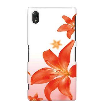 Snooky 37164 Digital Print Hard Back Case Cover For Sony Xperia Z2 - White