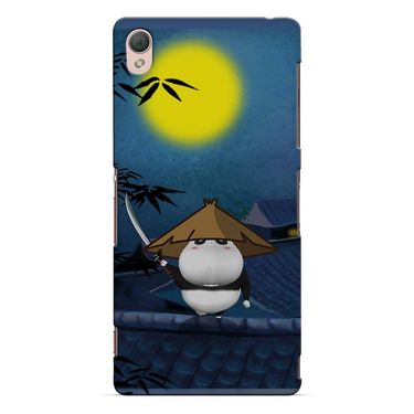 Snooky 37210 Digital Print Hard Back Case Cover For Sony Xperia Z3 - Blue