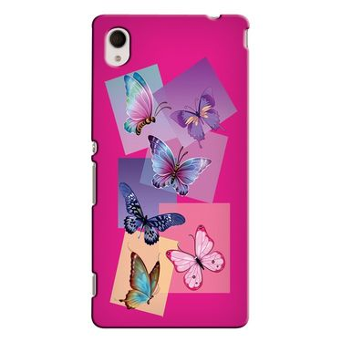 Snooky 37854 Digital Print Hard Back Case Cover For Sony Xperia M4 AQUA DUAL - Pink