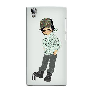 Snooky 37520 Digital Print Hard Back Case Cover For Vivo Y15 - Green