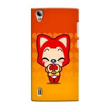 Snooky 37561 Digital Print Hard Back Case Cover For Vivo Y15 - Orange