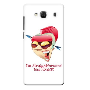 Snooky 36024 Digital Print Hard Back Case Cover For Xiaomi Redmi 2s - White