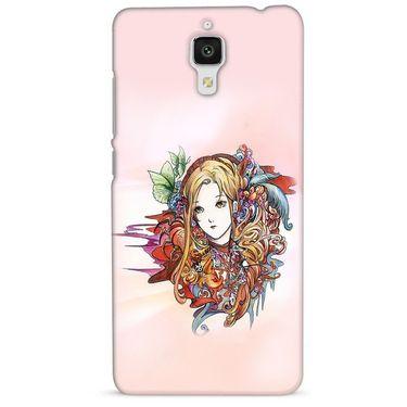 Snooky 38458 Digital Print Hard Back Case Cover For Xiaomi MI 4 - Multicolour
