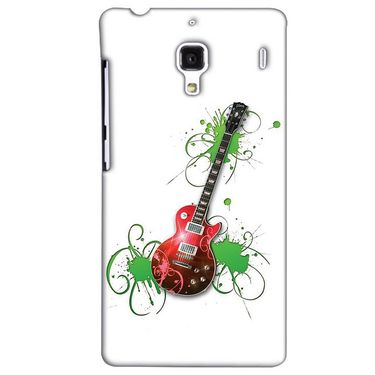 Snooky 38501 Digital Print Hard Back Case Cover For Xiaomi Redmi 1S - White