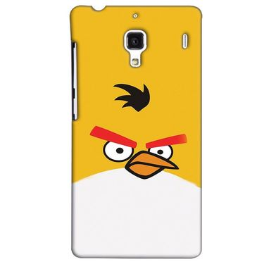 Snooky 38513 Digital Print Hard Back Case Cover For Xiaomi Redmi 1S - Yellow