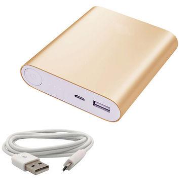 UNIC 12000mah Fashionable USB Portable Mobile Charger UN12K2 - Golden