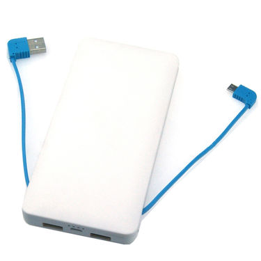 UNIC 10000mAh Lithium Polymer Battery Slimmest Lightning Power Bank UNS1 - White