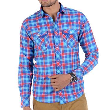 Bendiesel Checks Cotton Shirt_Bdc076 - Multicolor
