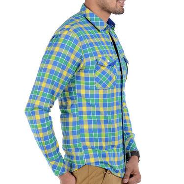 Bendiesel Checks Cotton Shirt_Bdc078 - Multicolor