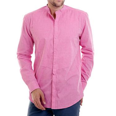 Bendiesel Plain Cotton Shirt_Bdcc018 - Pink