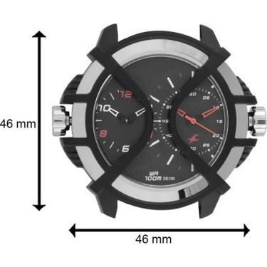 Fastrack Analog Watch_ 38016pl01 - Black