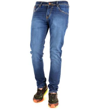 Slim Fit Cotton Jeans_Thbd - Blue
