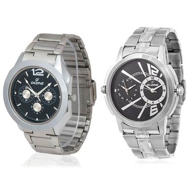 Pack of 2 Dezine Wrist Watch_Combo10