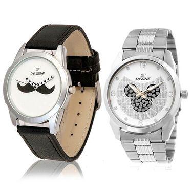 Pack of 2 Dezine Wrist Watch_Combo15