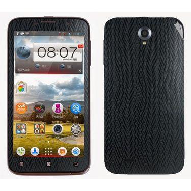 Snooky 18684 Mobile Skin Sticker For Lenovo A850 - Black