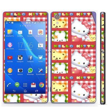 Snooky 39750 Digital Print Mobile Skin Sticker For Sony Xperia Z2 - Pink